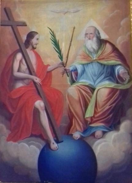 Oltářní obraz Svaté Trojice